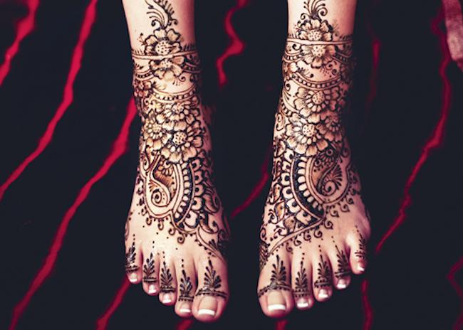 Shringar (Mehendi Feet)