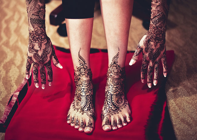 Shringar (Mehendi Hands and Feet)