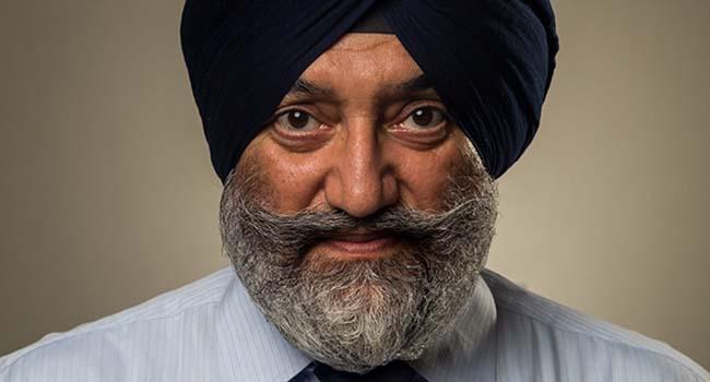 Captain Harjit Singh Bains
